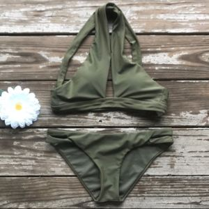 BCA by Rebecca Virtue Swimsuit Bikini Set NWOT